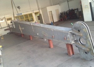 Fabrication of 5 Ton crane boom at our workshop-1