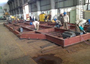 Fabrication-of-radiator-platform-2